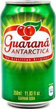 Guarana Antarctica (Brazilian Soda) pack with 12 cans