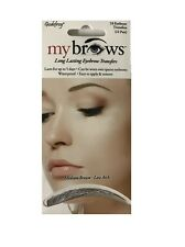 Godefroy MyBrows Long Lasting Eyebrow Transfers Medium Brown-Low Arch
