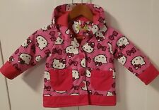 2T hello Kitty pink raincoat  With hood girls by Western chief