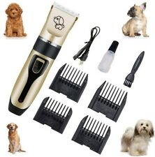 New listing Pet Hair Clippers Low Noise Dog Cat Grooming Clipper Electric Shaver Trimmer Set