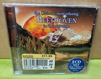 The Ultimate Most Relaxing Beethoven in the Universe (CD, Aug-2007, 2 Discs) NEW