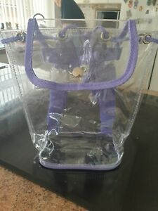 Small Clear Ruck Sack Pack of 10