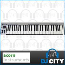 Masterkey 61 Key USB MIDI Keyboard Controller Studio Production Acorn Instrument