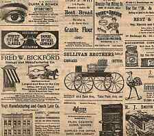 """""""Old Newspaper"""" Retro Style Newsprint Gift Wrap Tissue Paper - 100 Large Sheets"""