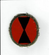 WWII 7th Infantry Division patch