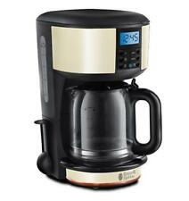 Russell Hobbs 20683 Legacy Cream Digital Coffee Maker Makes Up To 10 Cups - New