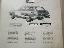 Volvo P1800E P1800E P1800ES Workshop Manual