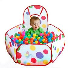 Portable Kids Outdoor / Indoor Game Play Children Toy Tent Ocean Ball Pit Pool A