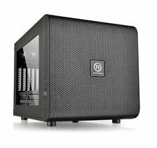Thermaltake Core V21 SPCC Cube Gaming Computer Case (CA-1D5-00S1WN-00) - Black