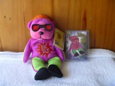 BEANIE KIDS RARE  - DJ Mutation  & Special Collector Card  - Very Rare - BK292.