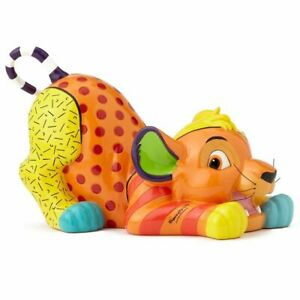 NEW Official Disney Figurine Simba The Lion King Collectable Statue Gift Britto!