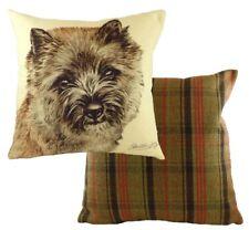 "17"" Fawn Cairn Terrier Dog Cushion Evans Lichfield DPB041 43cm Waggydogz"
