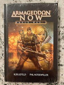 Armageddon Now World War 3 HARDCOVER Graphic Novel SEALED V1 Image Liefeld J590