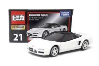 Tomica Premium DieCast Modellauto 1:60 Nr 21 Honda NSX Type R weiß Takara Tomy