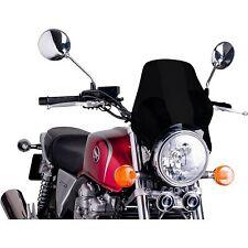 PUIG - 0869N - Naked Windshield, Black Triumph,Suzuki,Honda,Kawasaki,Daelim,Duca
