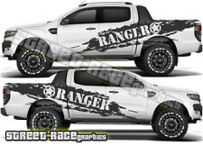 FORD F 150 Rally 014 Ranger côté Cab/baignoire Grunge decals stickers Graphics