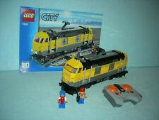 LEGO City Eisenbahn #7939 - Lokomotive mit Infrarot Fernsteuerung !!!