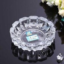 ASH TRAY GLASS CUT CIGARETTE BAR PUB RESTAURANT CRYSTAL HOME OFFICE SMOKING