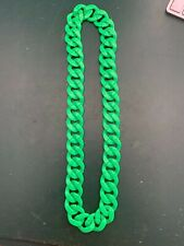 NEON GREEN. CHUNKY NECKLACES