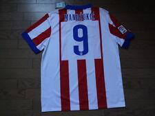 Atletico Madrid #9 Mandzukic 100% Original Jersey Shirt XL 2014/15 Home BNWT