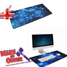Tappetino per il Mouse Stelle Blu Antiscivolo Neoprene Grande Computer Ufficio