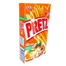 3 x  Pretz Sticks (Tom Yum Kung Flavour) (36g) by Glico - UK Seller (SN55x3)