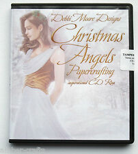 Debbi Moore Designs CD Rom - Christmas Angels Papercrafting Inspirational