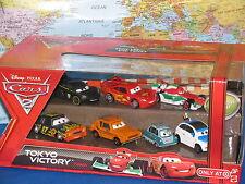 DISNEY PIXAR CARS 2 TOKYO VICTORY PROFESSOR Z GREM DARRELL FRANK McQUEEN 7PACK