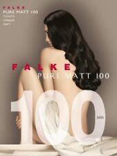 FALKE - Pure Matt 100 Opaque Tights - Dark Brown - Size S/M   BNIP