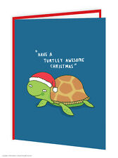 BrainBox CANDY Navidad Tarjetas Regalo Divertido Humor Broma Tortuga GENIAL