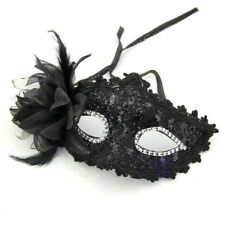 Black Lace Venetian Mask Masquerade Carnival Party Ball Fancy Dress Costume D5C