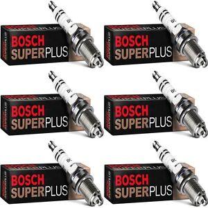 6 Bosch Copper Core Spark Plugs For 1990 MASERATI 430I V6-2.8L