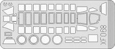 EDUARD XF 068 EXPRESS MASK MASCHERATURE EASY PAINTING 1/48 B6N TENZAN/JILL