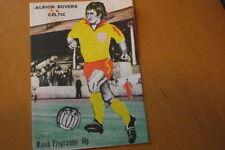 Albion Home Team Written - on Football Programmes
