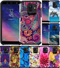 For Samsung Galaxy J2 Core 2018 J260 Phone Case Dual Layer Slim Hybrid Cover