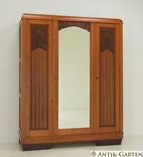 ANTIK! Kleiderschrank restauriert Art Déco um 1925 Eiche Dielenschrank