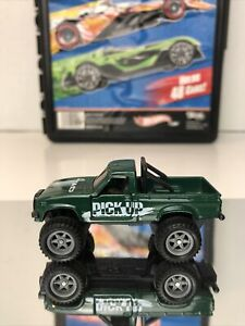 TOMY 1:64 Toyota Helix 4WD Die Cast Truck Green MINT