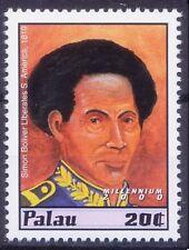 1819 Simon Bolivar liberates America, Palau 2000 MNH Millennium