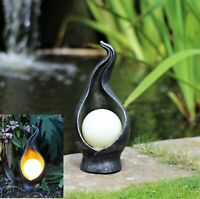 Garden Solar Ornament Flicker Light Decor Fairy Garden LED Light up