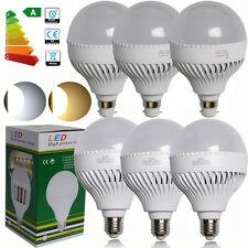 2/4/6/10x B22 E27 18W LED 54SMD Globe Light Bulbs Warm Day White BC Spotlight AU
