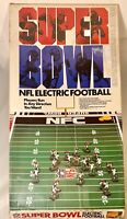 Vintage Tudor Games SUPERBOWL NFL ELECTRIC FOOTBALL & BOX Giants Broncos WORKS