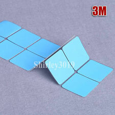 2pcs 3M 8810 35mmx35mm LED Thermal Adhesive Blue Cooling Tape Pad For CPU GPU