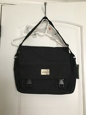 Porox Adult Messenger Laptop Business Shoulder Bag Black
