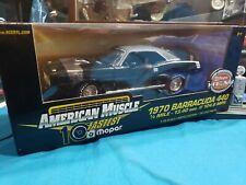 *ERTL American Muscle HEMI Mopar 1970 Barracuda 440 1/18 Die Cast BEAUTIFUL CAR
