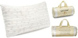 2 Pack Memory Foam Bamboo Gel Pillow by Clara Clark - Available in King or Queen