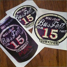 BUSFEST 2015  STICKER PACK BY VOODOO STREET™, custom car, rat rod, camper, NOS