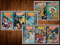 Lot of 8 Wonder Women #321-327,329 (no 328)  *ALL NM*  Beautiful See Listing!