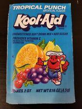 Sealed Vintage Tropical Punch Kool-Aid Packet