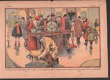 POLLUTION SONORE LUTTE ANTI-BRUIT BOULEVARD SUCHET PARIS   ILLUSTRATION 1933