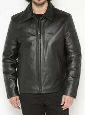 Schott NYC Black Leather Jacket LC5100 Small NEW with minor defect